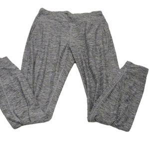 Nicole Miller original heather grey jogging pants